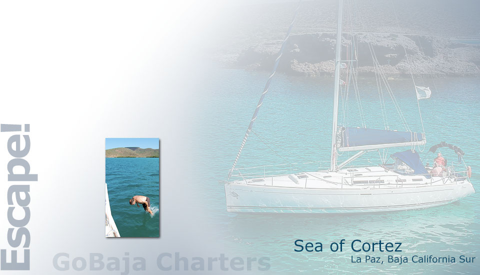 GoBaja Charters - Sailboat, Powerboat, and RV Chartering in La Paz Mexico.